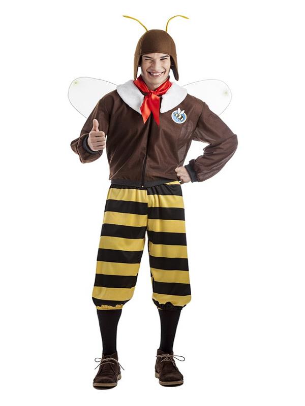 disfraz de abeja aviador hombre k0229 - Novedades en disfraces para este carnaval