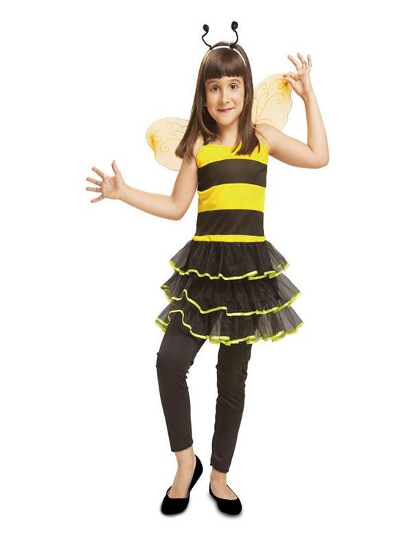 disfraz de abeja chic para niña