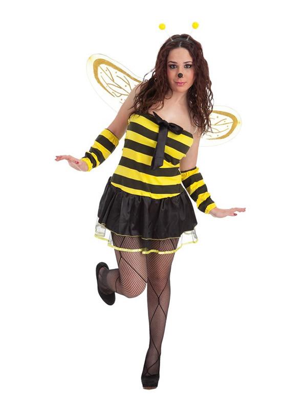 disfraz de abeja con lazo para mujer