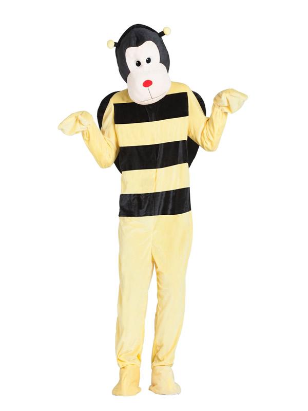 disfraz de abeja mascota gigante para adulto