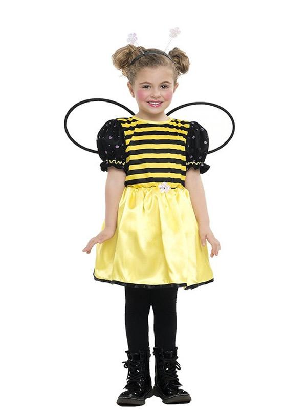 disfraz de abeja niña