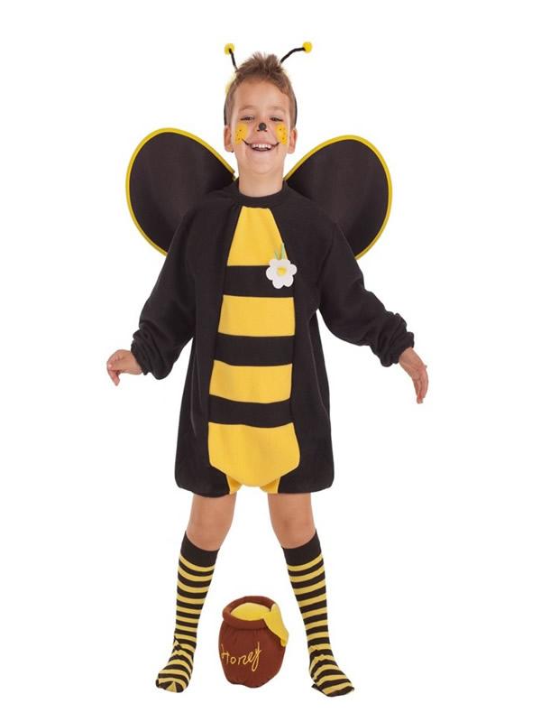 disfraz de abejorro loco para niño
