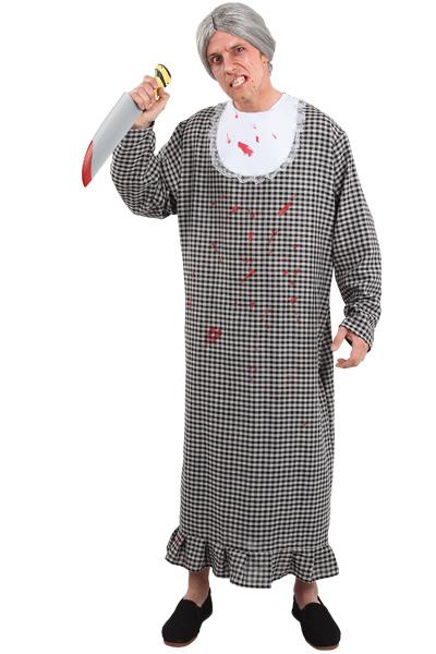 disfraz de abuela asesina para hombre