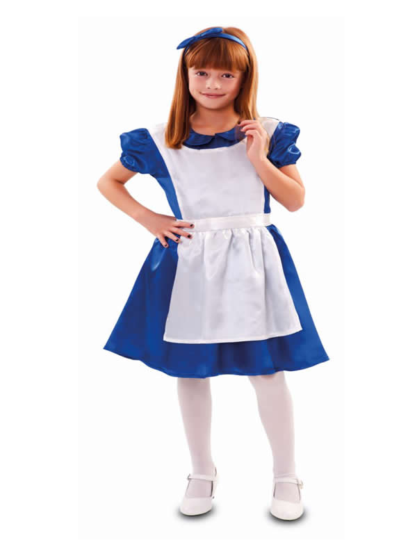 disfraz de alicia clasica niña