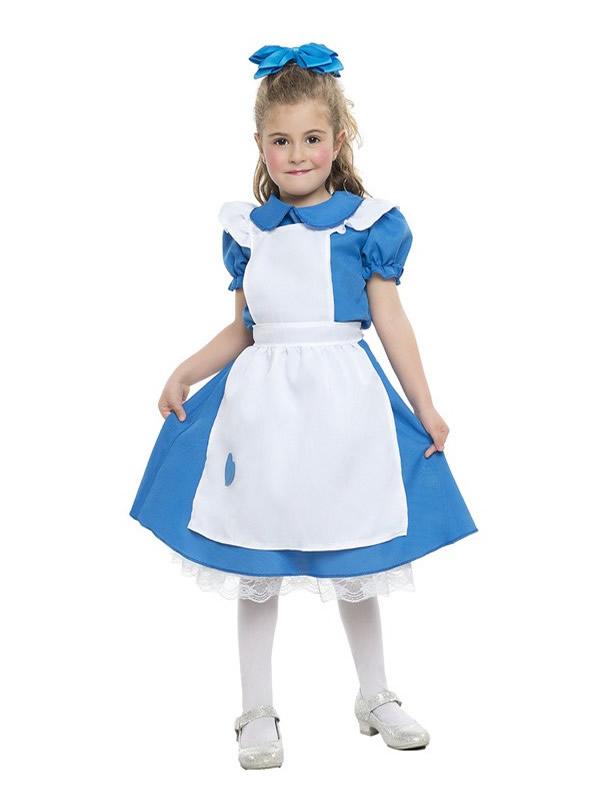 awesome disfraz de alicia para nia te irs al pas de las maravillas siguiendo al conejo