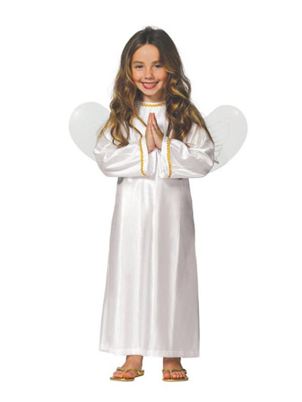 disfraz de angel barato para niña