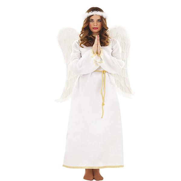 Disfraz de angel blanco adulto comprar barato disfracesmimo for Disfraces de angeles