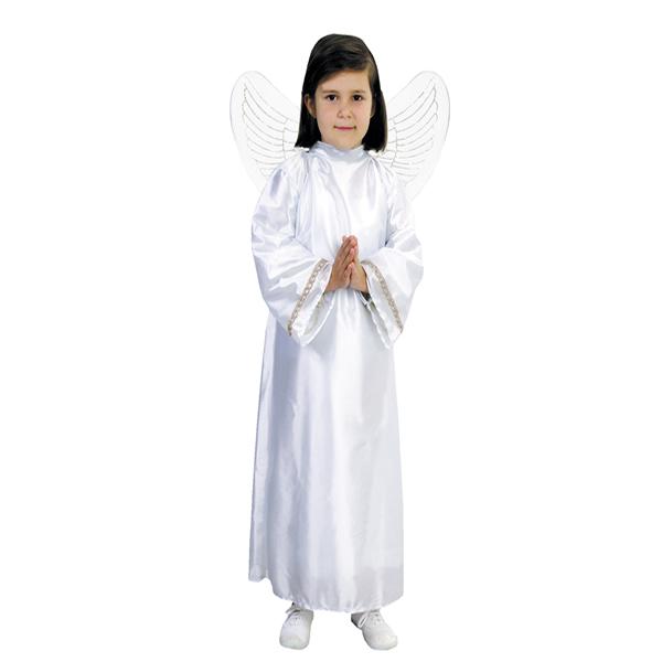 disfraz de angel blanco infantil varias tallas - Tu Belén Viviente para Navidad