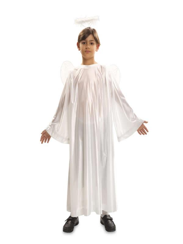 disfraz de angel con alas infantil