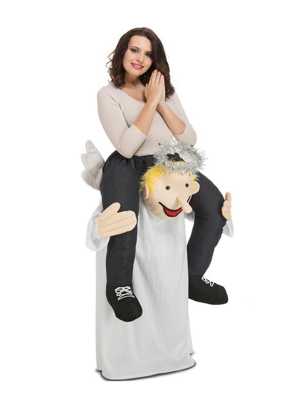 disfraz de angel a hombros para adulto