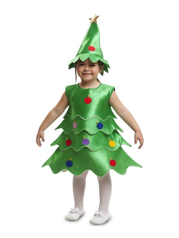 disfraz de arbol navidad infantil