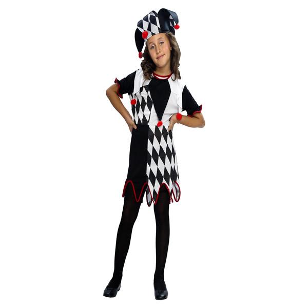 disfraz de arlequina barato niña