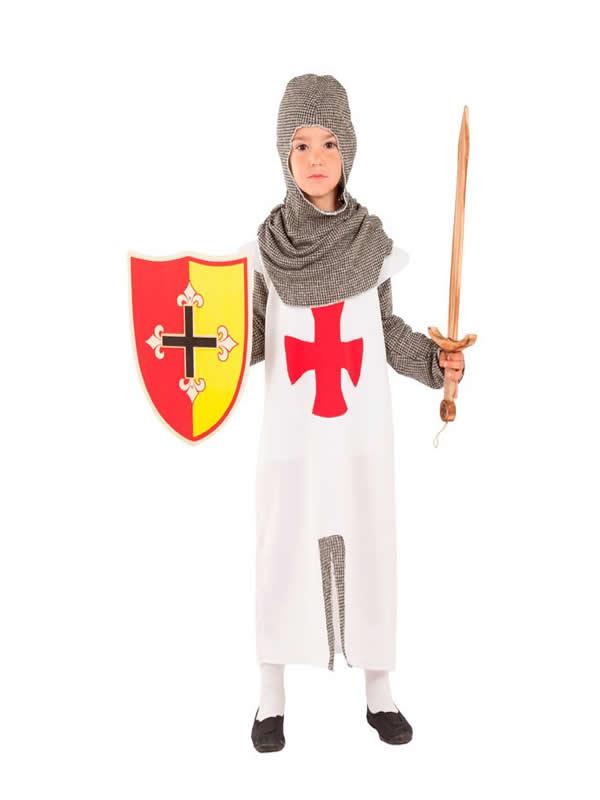disfraz de artillero medieval niño