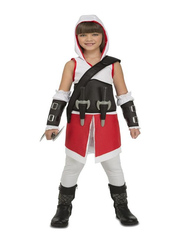 disfraz de asesina creed para niña