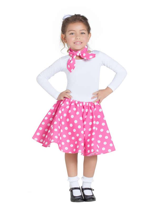 disfraz de bailarina pin up rosa niña