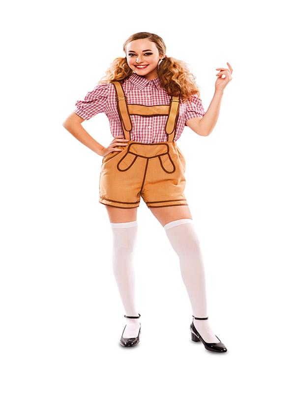 disfraz de barava con pantalones para mujer