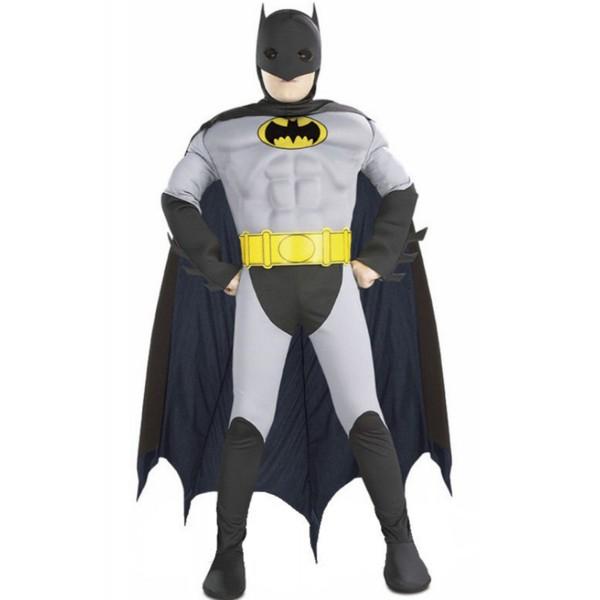 disfraz de batman musculoso niño
