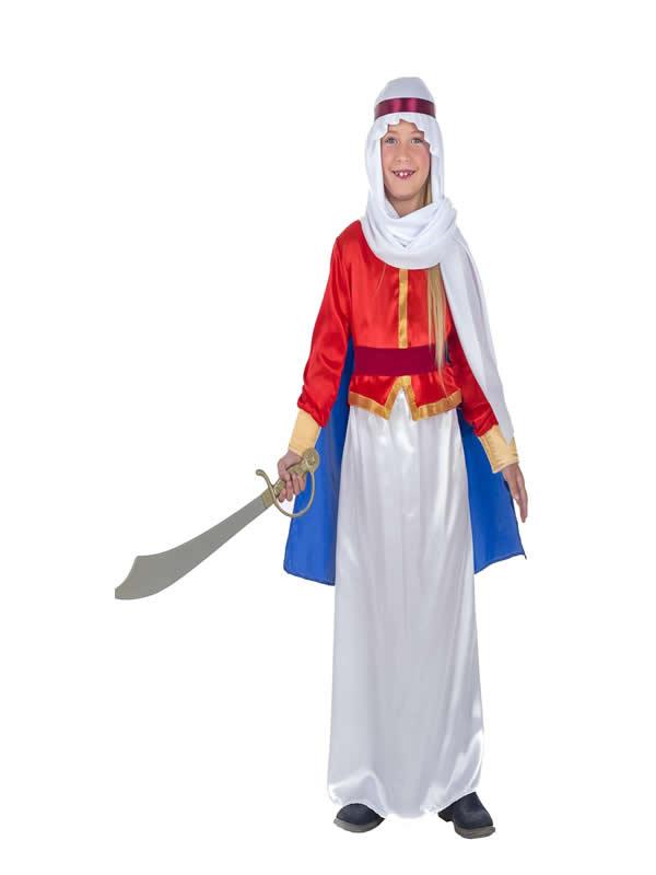 disfraz de beduina para niña