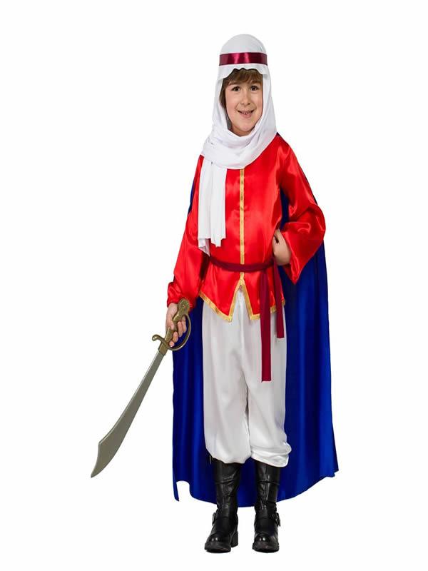 disfraz de beduino con capa niño