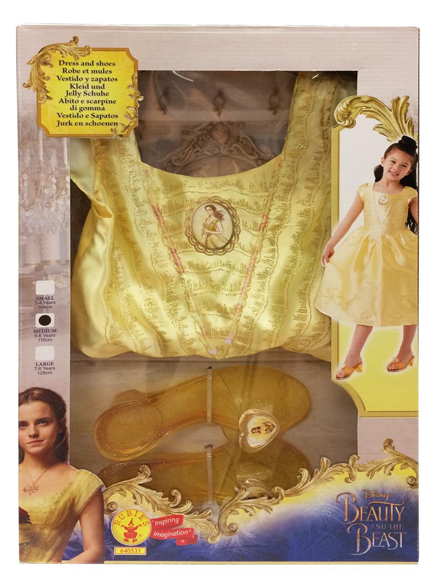 disfraz de bella y la bestia classic en caja niña