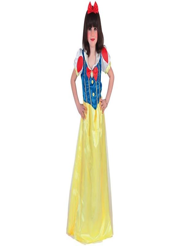 disfraz de blancanieves largo infantil 705930 T2 - Disfraces de princesas infantiles para fiestas