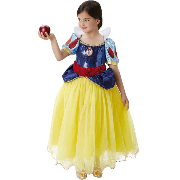 disfraz de blancanieves lujo nina fu12976 - Las Mejores Ideas para Regalar Disfraces Infantiles en Navidades