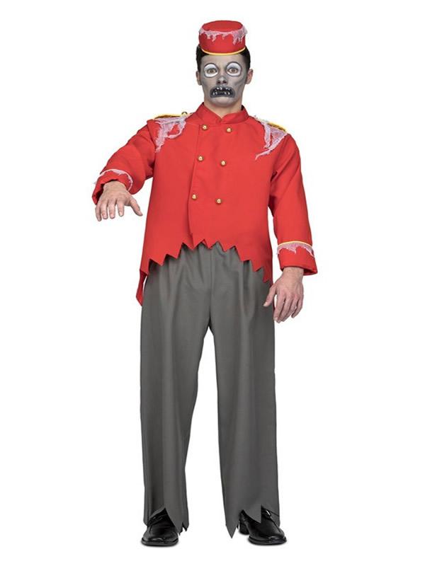 disfraz de botones zombie para hombre