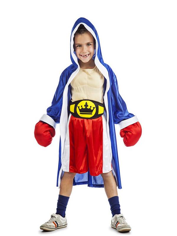 disfraz de boxeador para niño