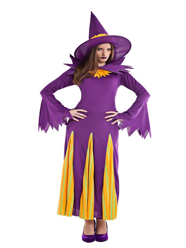 disfraz de bruja calabaza para mujer K0536 - ¿Que sabes de la historia de las Brujas en Halloween?