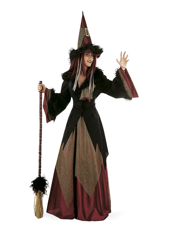 disfraz de bruja dacha deluxe mujer MA269 - Los 8 mejores Disfraces de Brujas para este Halloween