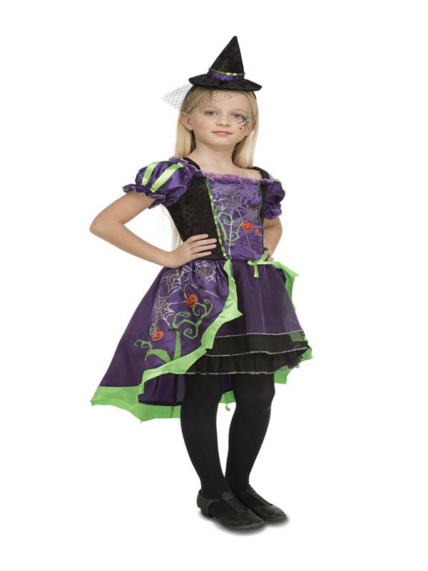 disfraz de bruja damisela para niña