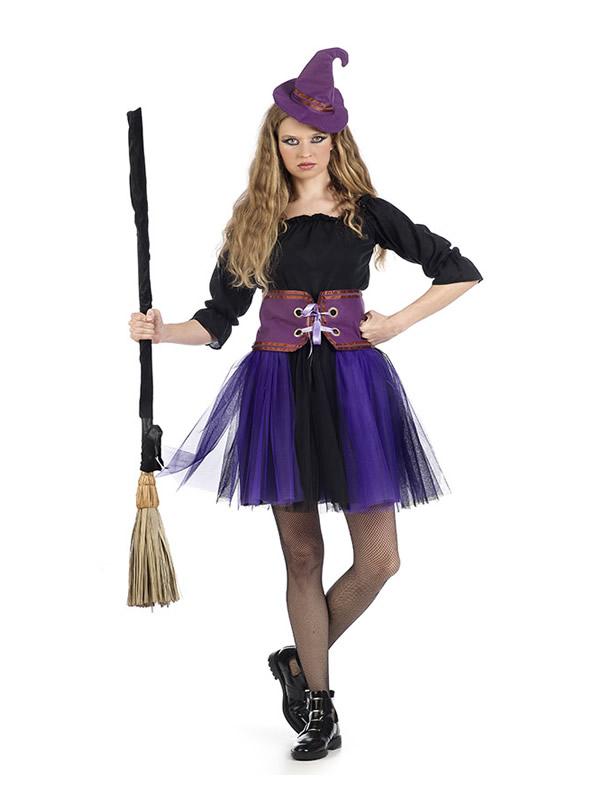 disfraz de bruja tutu mujer MA299 - ¿Que sabes de la historia de las Brujas en Halloween?