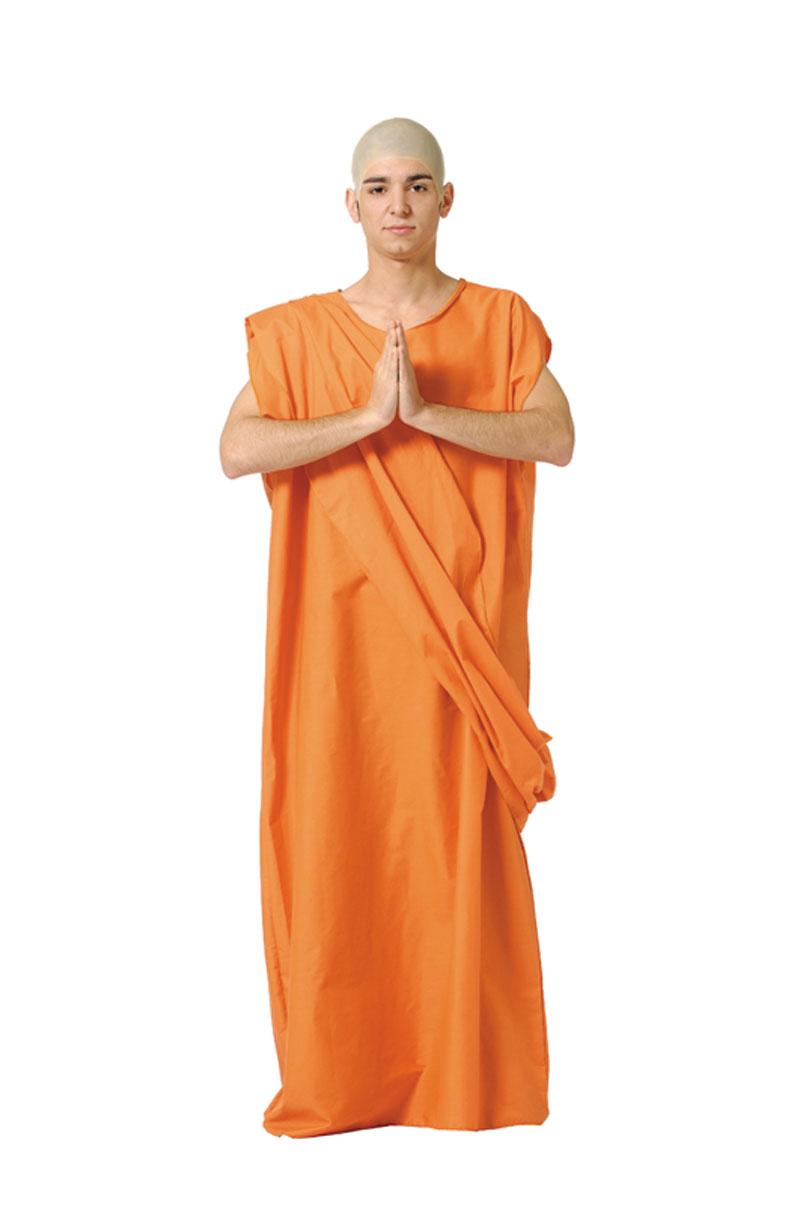disfraz de buda monje tibet hombre