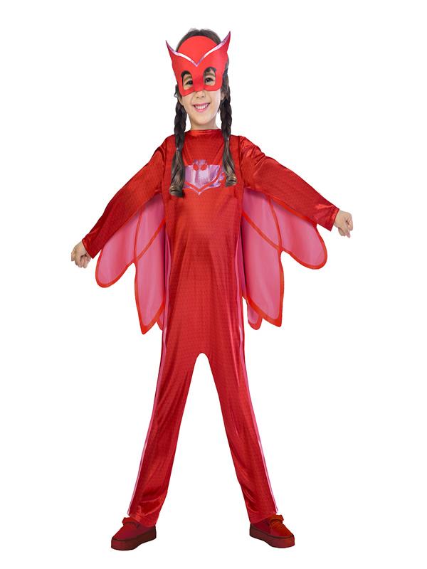 disfraz de buhita classic pj masks para niña
