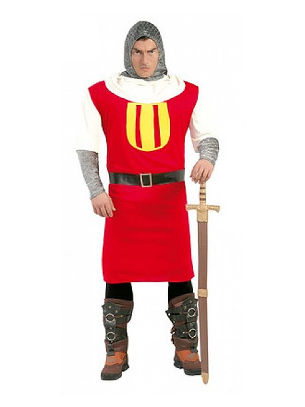 disfraz de caballero medieval barato hombre