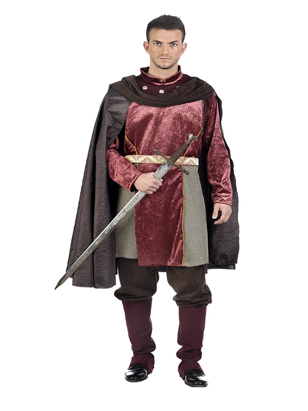 disfraz de caballero medieval carlos hombre EA225 - ¿Cómo organizar una boda medieval con disfraces medievales adultos?