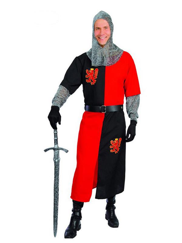 disfraz de caballero medieval para hombre