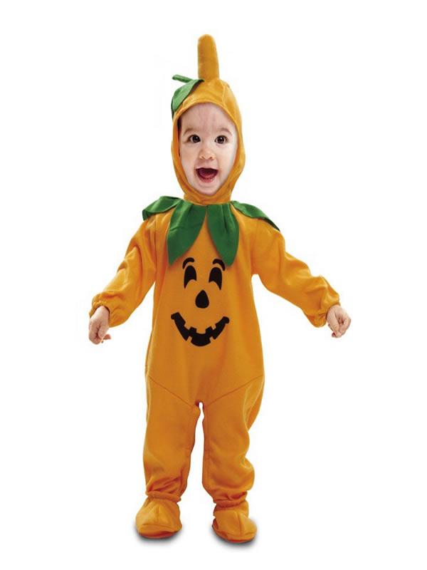 disfraz de calabaza para bebe
