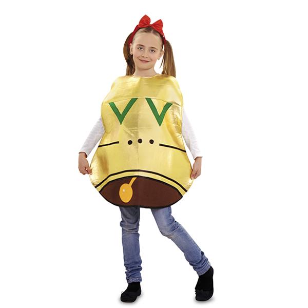 disfraz de campana para niña