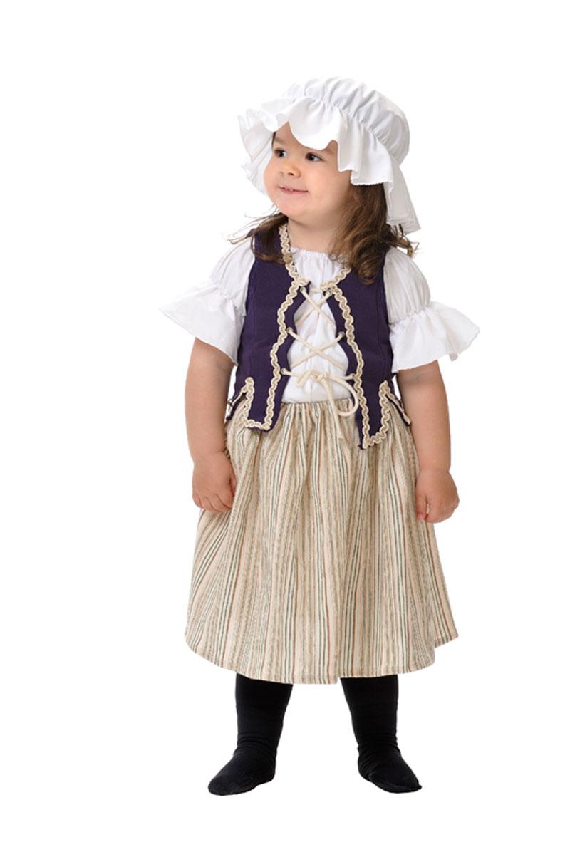 disfraz de campesina medieval bebe
