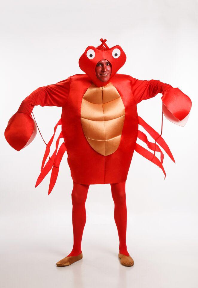 disfraz de cangrejo rojo hombre adulto talla ml pr91921 - Grandes ideas de disfraces de parejas para el carnaval.