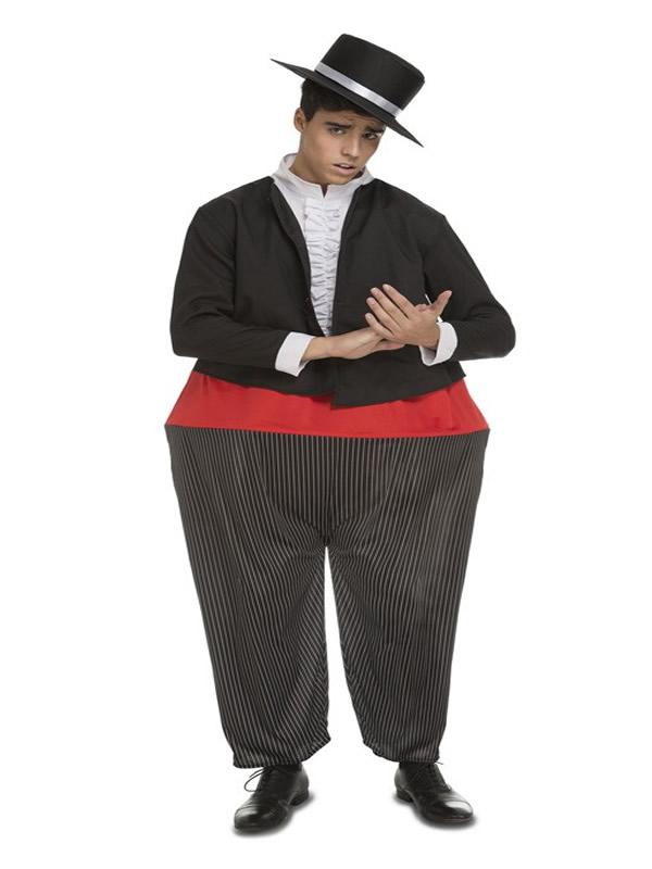 disfraz de cantaor cordobes gordo para hombre