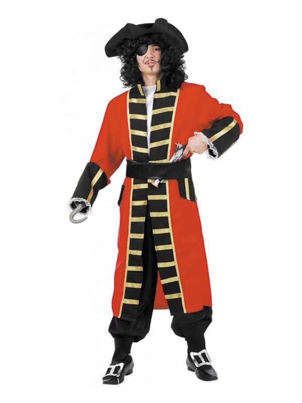 disfraz de capitan garfio para hombre
