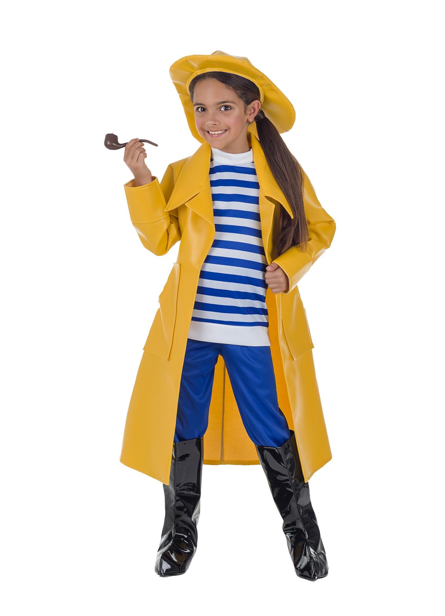 disfraz de capitan pescador para niño
