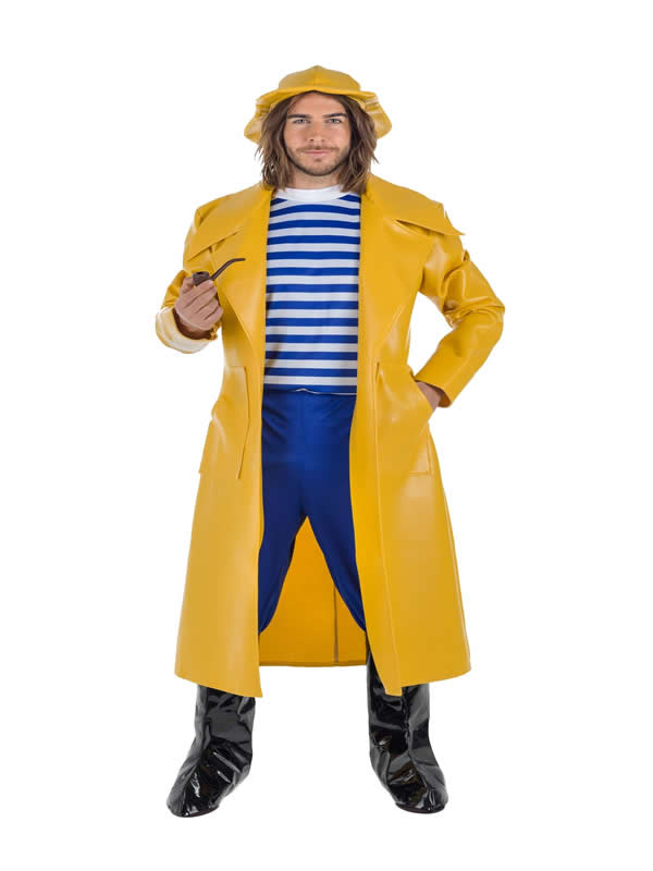 disfraz de capitan pescador para hombre