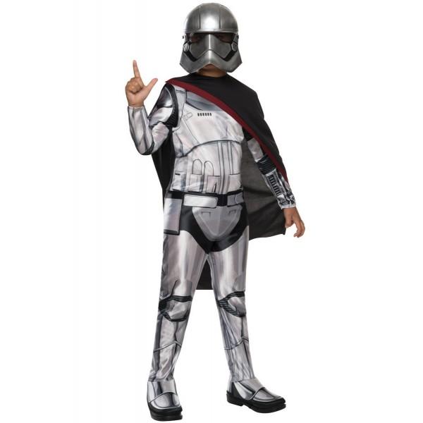 disfraz de capitan phasma star wars episodio 7 niño