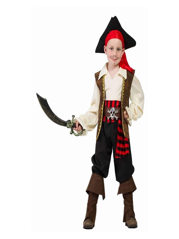 disfraz de capitan pirata para niño