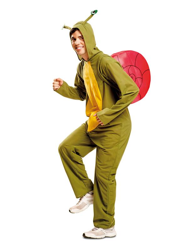 disfraz de caracol feliz para hombre