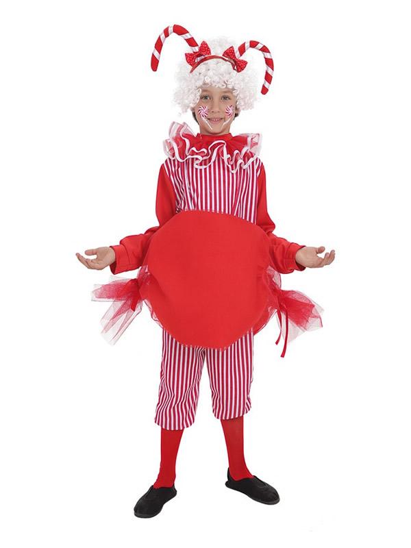 disfraz de caramelo para niño