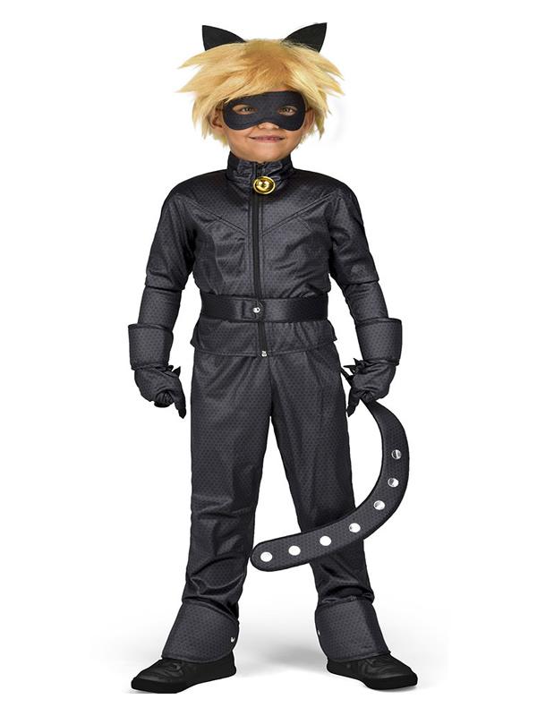 disfraz de cat noir las aventuras de ladybug niño